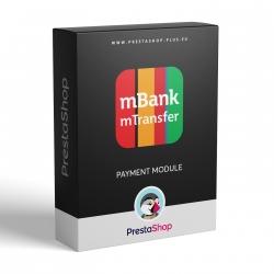 mTransfer (mBank SK, CZ, PL) for PrestaShop 1.6.x (Payment gateway)