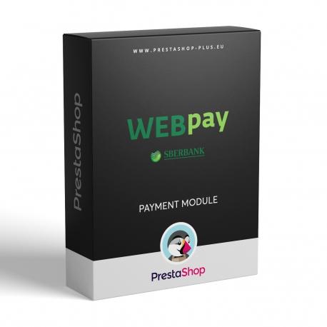 WEBpay (SBERBANK) pre PrestaShop (platobný modul)
