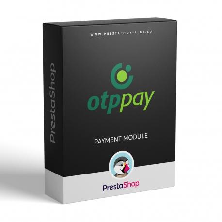 OTPpay pre PrestaShop (platobný modul)