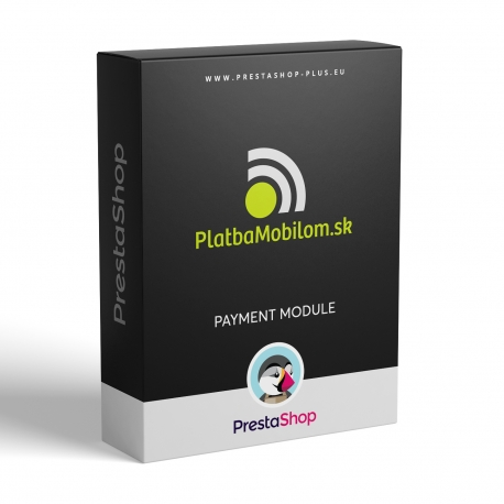 PlatbaMobilom.sk pre PrestaShop (platobný modul)
