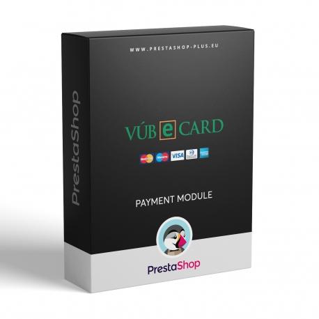 eCard VÚB pro PrestaShop (modul pro karetní platby)