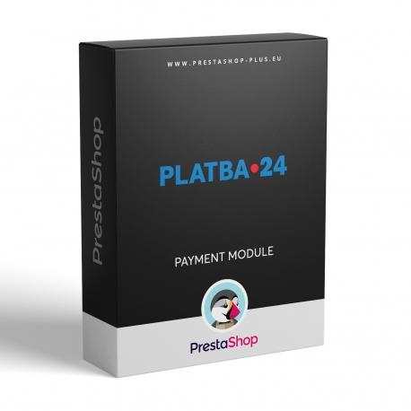 PLATBA 24 for PrestaShop (payment gateway)