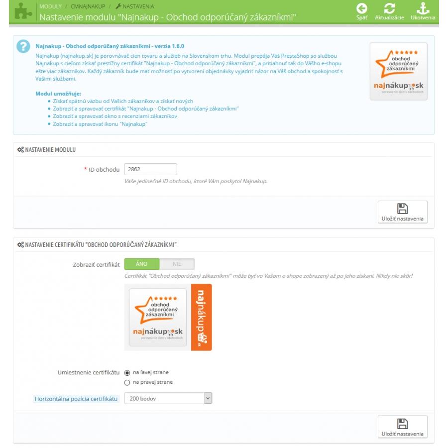 Najnakup - Obchod doporučený zákazníky  NajNakup - Obchod doporučený  zákazníky ... f7162c8ac06