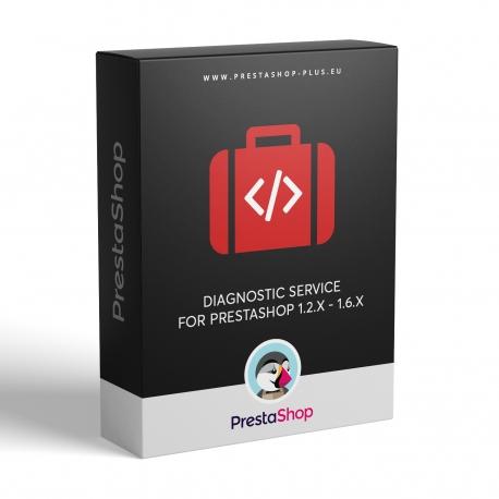 Diagnostické služby pro PrestaShop 1.2.x - 1.6.x
