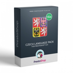 Czech language for PrestaShop 1.6.x