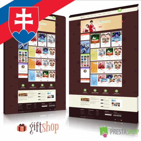 Slovak language for Leo Gift Shop PrestaShop theme