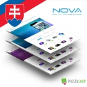 Slovak language for SNS Nova PrestaShop theme