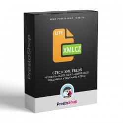 PrestaShop XML Cz výstupy (Lite) pre porovnávače cien