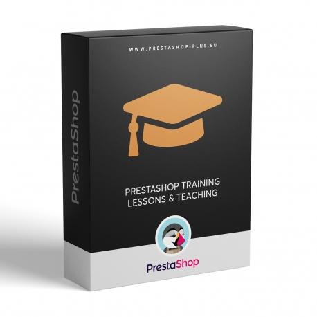 PrestaShop training lessons and teaching