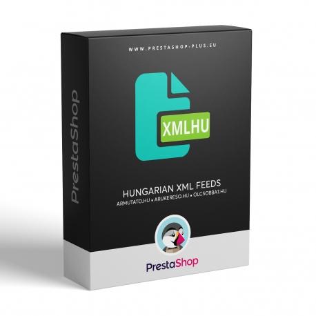 PrestaShop XML výstupy pre Maďarské porovnávače cien tovaru (modul)