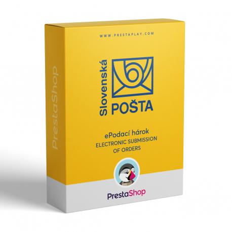 Elektronické podávanie zásielok ePodací hárok (Slovenská pošta)