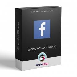 Facebook vysúvací panel pre PrestaShop