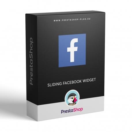 Facebook vysouvací panel pro PrestaShop