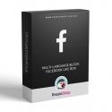 Multi-jazyčný blok: Facebook fanstránka