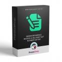 Editace kód objednávky, čísla faktury a dodacího listu