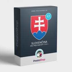 Slovak language for PrestaShop 1.7.x