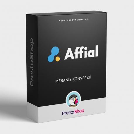 Affial Affiliate - měření konverzí pro PrestaShop