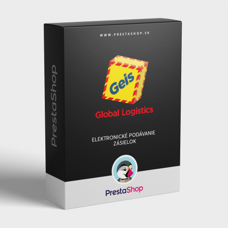 Elektronické podávání zásilek Geis pro PrestaShop (modul)