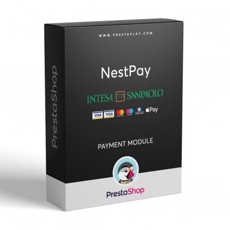 NestPay PrestaShop (card payments module) - Intesa Sanpaolo group Italy