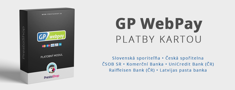 GP WebPay (ČSOB SK, Komerční Banka, UniCredit a Raiffeisen Bank)